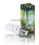 Лампа энергосберегающая MADIX спираль T2M 9W E27