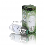 Лампа энергосберегающая MADIX спираль Т2 7W E27