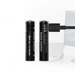 Многозарядная LITHIUM USB батарея AAA 2шт