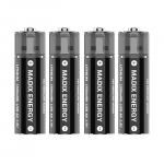 Многозарядная LITHIUM USB батарея AA 4шт