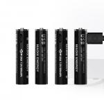 Многозарядная LITHIUM USB батарея AAA 4шт